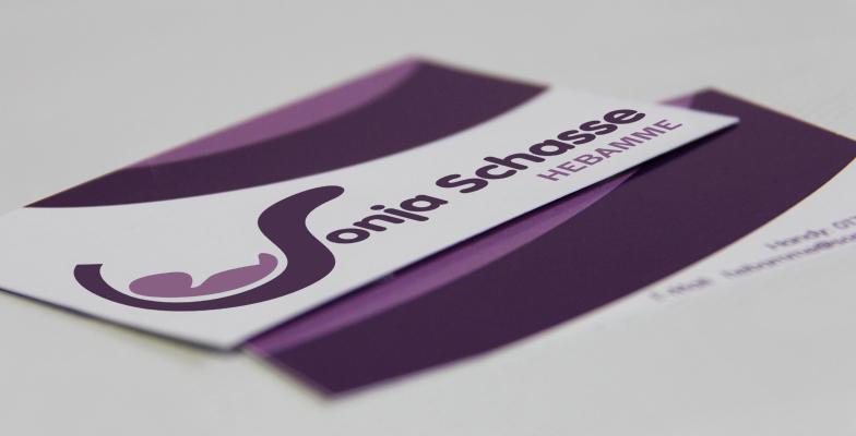 Logoentwicklung Für Hebamme Sonja Schasse